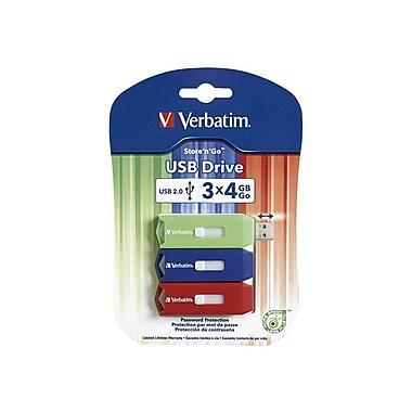 Verbatim® Store 'n' Go® 97002 USB 2.0 Flash Drive, 4GB