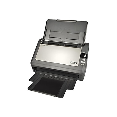 Xerox Documate 3125 Sheetfed Scanner, Black/Silver