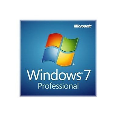Microsoft® FQC-08289 64 Bit Windows 7 Professional Operating System With Service Pack