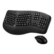 Adesso® Tru-Form Media™ 1500 Wireless Ergonomic Keyboard & Laser Mouse