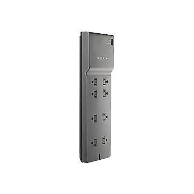 Belkin® SurgeMaster BE108200-06 8-Outlets 3390 Joule Home/Office Surge Protector With 6' Cord