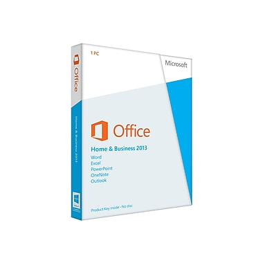 Microsoft® Office Home and Business 2013 Single User Licensing Software, Spanish Edition