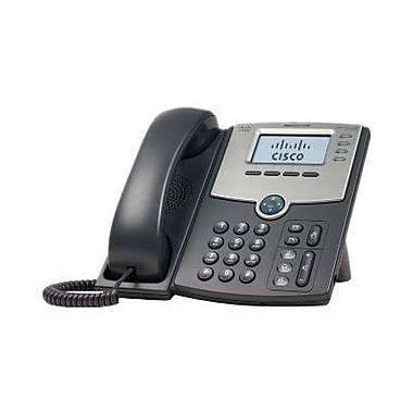 Cisco SPA504G 4-Line Business IP Phone, Dark Gray/Silver