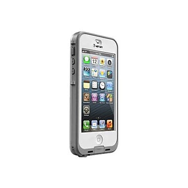 LifeProof® nuud Waterproof Case For Apple iPhone 5S, White/Clear