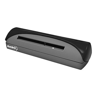 Ambir ID Card Scanner, Black (PS667-AS)