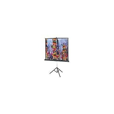 Da-Lite® Versatol® 72263 99in. Portable TriPod Projector Screen, 1:1