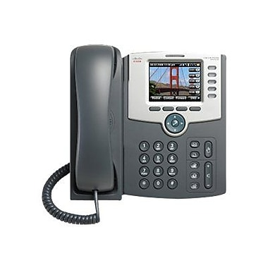 Cisco SPA525G2 5-Line IP Phone, Silver/Gray