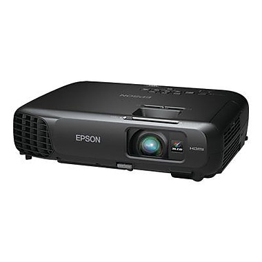 Epson® PowerLite 1222 Wireless 3LCD Projector, XGA