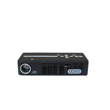 AAXA P4-X DLP Pico Pocket Projector 125 Lumens Rechargeable 90 min Battery