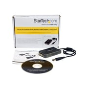 "StarTech USB2DVIE2 3.6"" USB to DVI-I Adapter, Black"