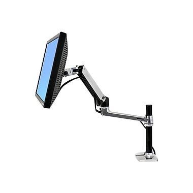 Ergotron® LX Desk Mount LCD Arm/Tall Pole For 25