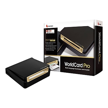 Penpower Worldcard Pro - Sheetfed Scanner - WCUPRO1EN