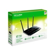 TP-LINK TL-WDR4300 Wireless N750 Dual Band Router, Gigabit, 2.4GHz 300Mbps+5Ghz 450Mbps, 2 USB port, Wireless On/Off Switch