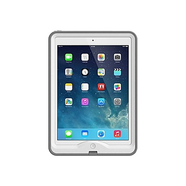 LIFEPROOF iPad Air Nuud Case White/Gray