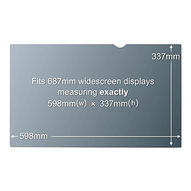 3M™ Widescreen Privacy Filter For 27in. LCD Monitor