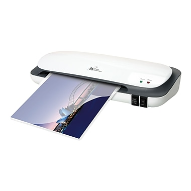 Royal Sovereign® CS Thermal and Cold 2 Roller Pouch Laminator, 9in.(W), White, Up to 5 mil (T) Pouch