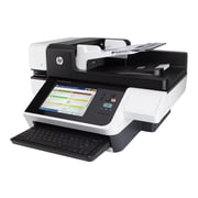 HP Digital Sender Flow 8500 fn1 Flatbed Document Scanner, Black