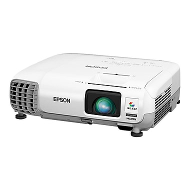 Epson® V11H573020 PowerLite W17 3 LCD Projector, WXGA