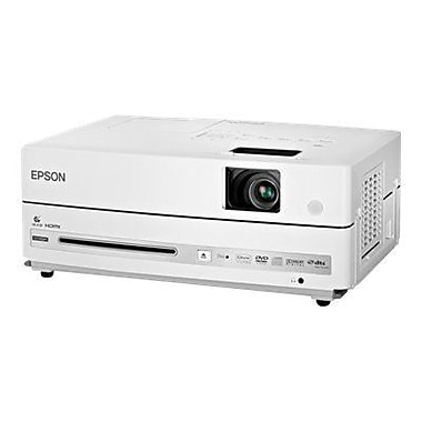 Epson PowerLite Presenter V11H335120 WXGA 1280 x 800 pixels 3LCD Business Projector, White