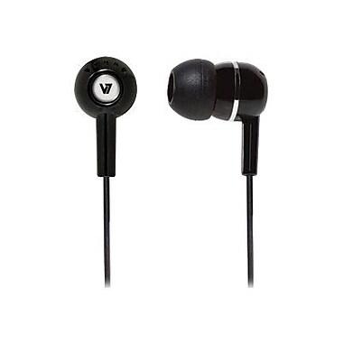 V7 HA100-2NP Stereo Earbud, Black