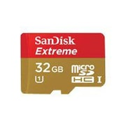 SanDisk® Extreme® 32GB MicroSDHC Class 10 UHS-1 Flash Memory Card