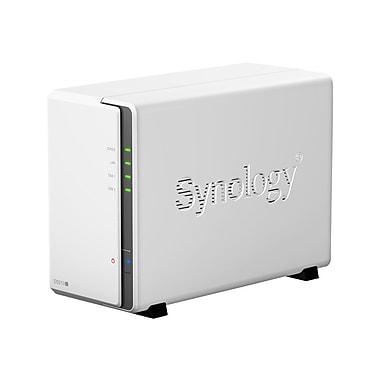 Synology DiskStation Network Attached Storage Server, 512 MB, 120-230 VAC