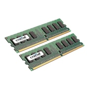 Crucial CT2KIT25664AA667 4GB (2 x 2GB) DDR2 240-Pin Desktop Memory Module Kit