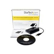StarTech USB/VGA Male to Female Graphic Adapter, Black