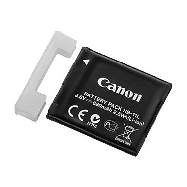 Canon® NB-11L 3.6 VDC Lithium-Ion Rechargeable Digital Camera Battery