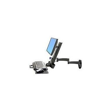 Ergotron® 45230200 Articulating Combo Arm, 6 - 18 lbs.