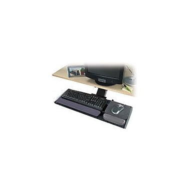 Kensington® Adjustable Keyboard Platform, Black/Graphite Gray, 30 1/2in.(W) x 10in.(D) Mouse