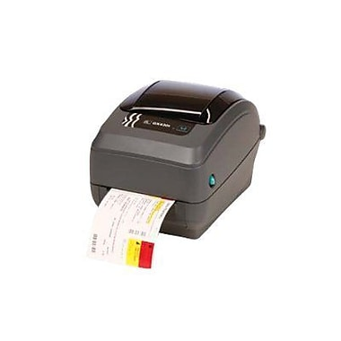 Zebra Technologies® GX430 TT 300 dpi Ethernet Desktop Printer 7 1/2in.(H) x 7.6in.(W) x 10in.(D)