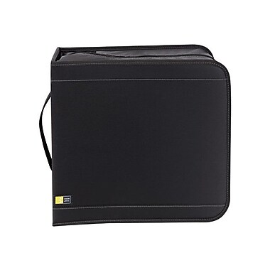 Case Logic® 320 CD Nylon Wallet, Black
