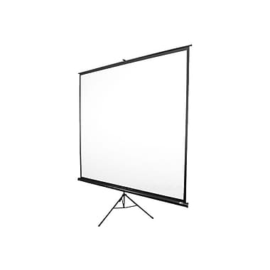 Elite Screens® Tripod Series 92in. Manual Projection Screen, 16:9, Black Casing
