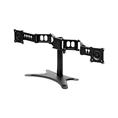 DoubleSight DS-230STA Dual Flex Stand for 30in. LCD Monitor, Black