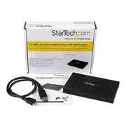 Startech.com® 1TB Portable USB 3.0 External Hard Drive Enclosure with UASP  (Black)