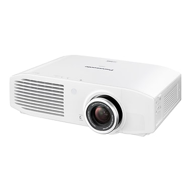 Panasonic PTAR100U HD Home Theater Projector, White