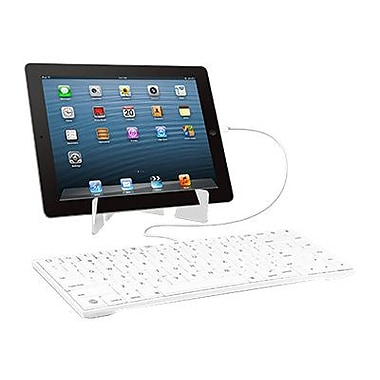 macally™ Lightning Wired Keyboard With Stand For iPad
