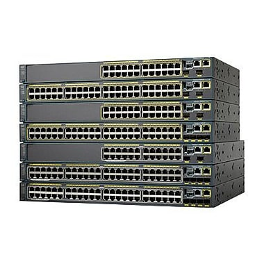 Cisco™ Catalyst 2960-SF Managed Fast Ethernet Switch, 48-Ports (WS-C2960S-F48FPS-L)
