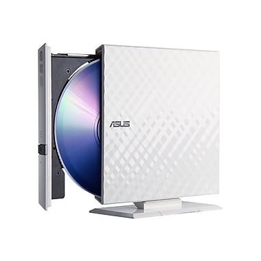 Asus External Portable DVD Reader, White