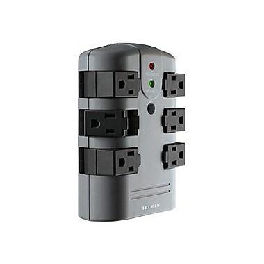 Belkin® BP106000 6-Outlets 1080 Joules Pivot-Plug Surge Protectors
