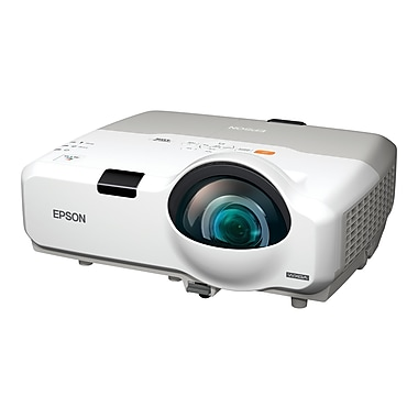 Epson® V11H449020 LCD Projector, WXGA