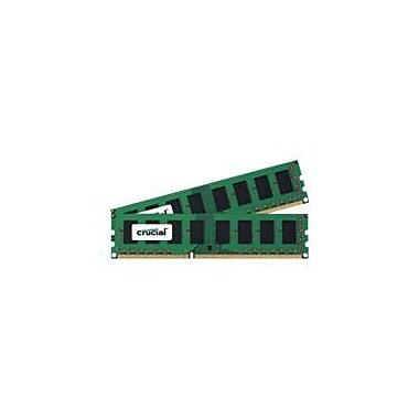 Crucial 16GB (2 x 8GB) DDR3 (240-Pin DIMM) DDR3 1600 (PC3 12800) Desktop Memory Module