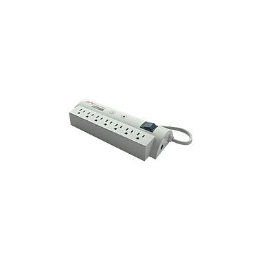 APC® SurgeArrest NET7 7-Outlet 1680 Joule Surge Suppressor With 6' Cord