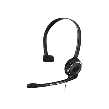 Sennheiser PC 7 USB 504196 Wired Single-Sided Headset, Black