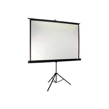 Elite Screens® Tripod Pro Series 99in. Portable Projection Screen, 1:1, Black Casing