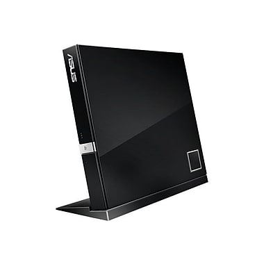 ASUS SBW-06D2X-U External Blu-Ray Writer, Black