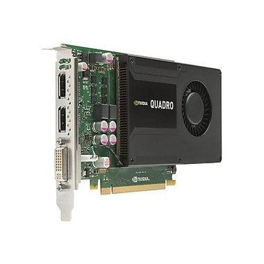 HP® NVIDIA Quadro K2000 Plug-in Card 2GB GDDR5 SDRAM Graphic Card