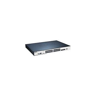 D-Link® Managed Ethernet Switch, 24 Ports (DGS-3120-24PC)