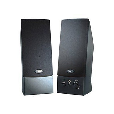 Cyber Acoustics CA-2016W Computer Speaker System, Black